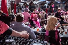 Pink Vail Patio DJ