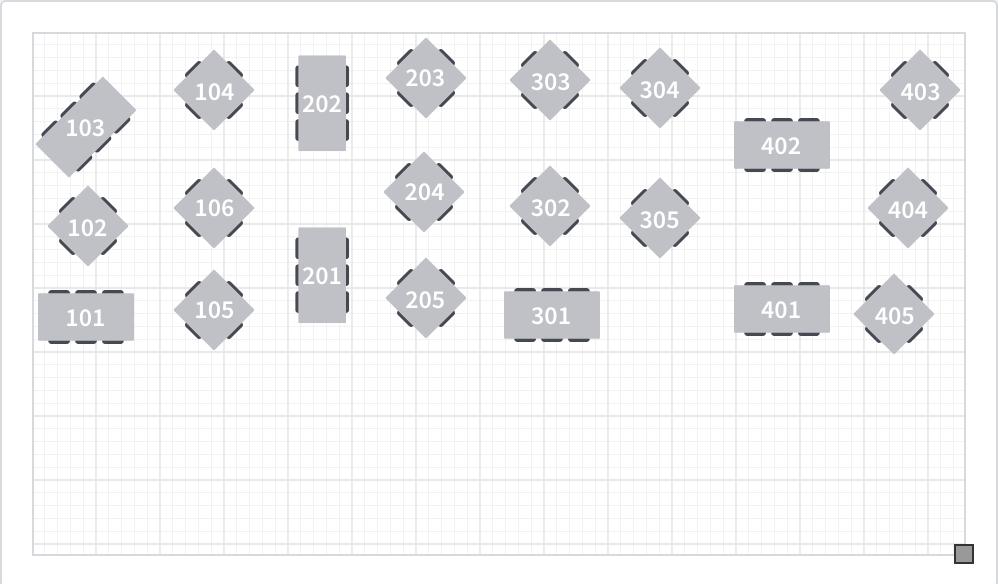 Vail Chophouse Patio Floor Plan