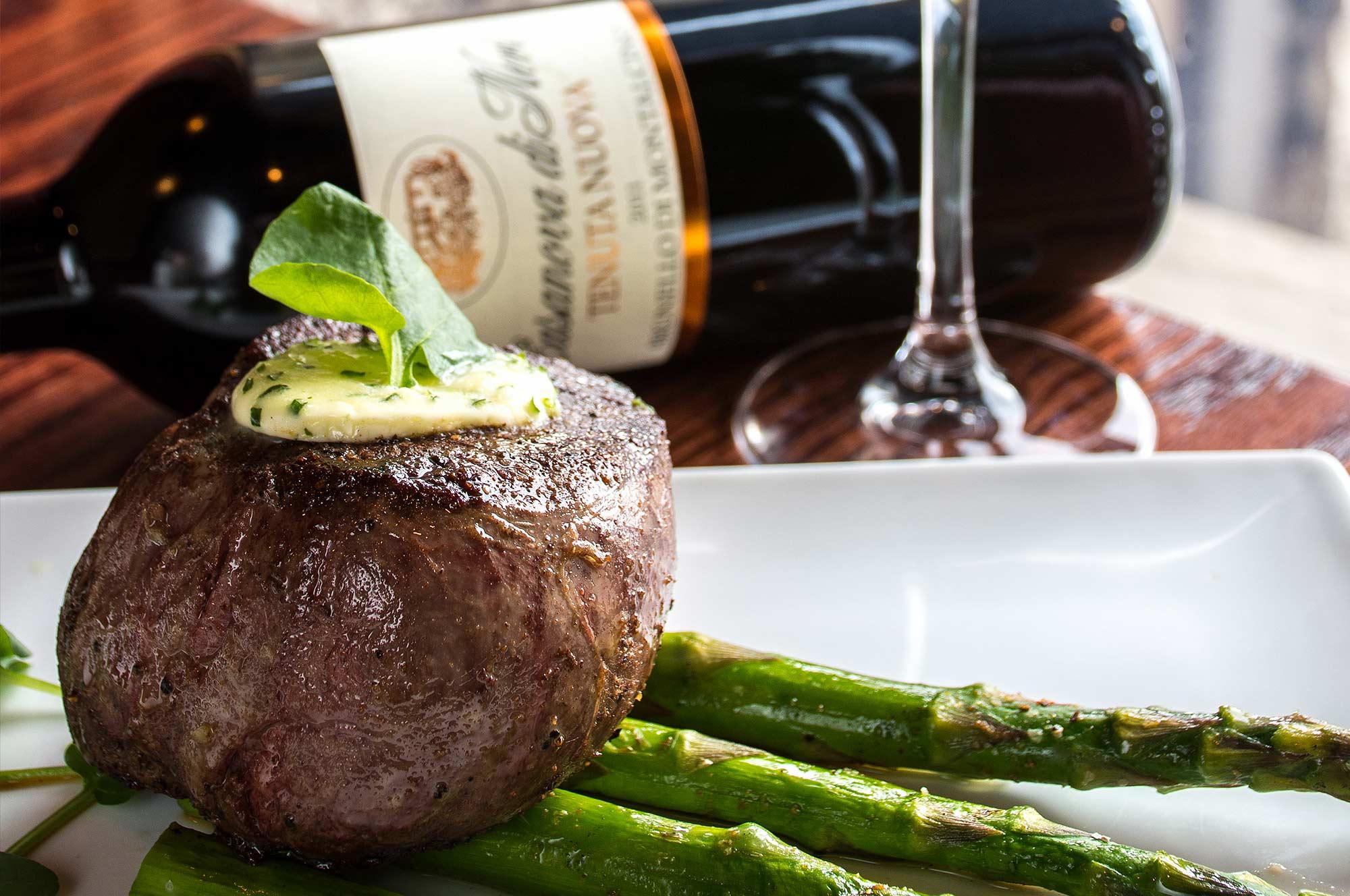 filet wine